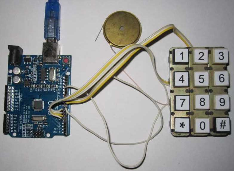 Connecting keyboard matrix to Arduino board