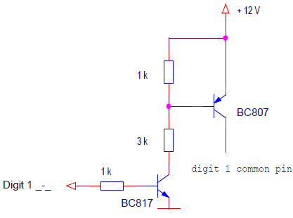 a switches for displays with high voltage supply