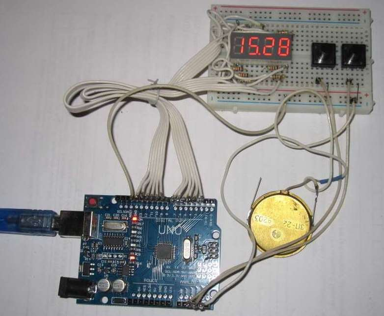 Arduino lessons  Work with time in Arduino  A sports stopwatch