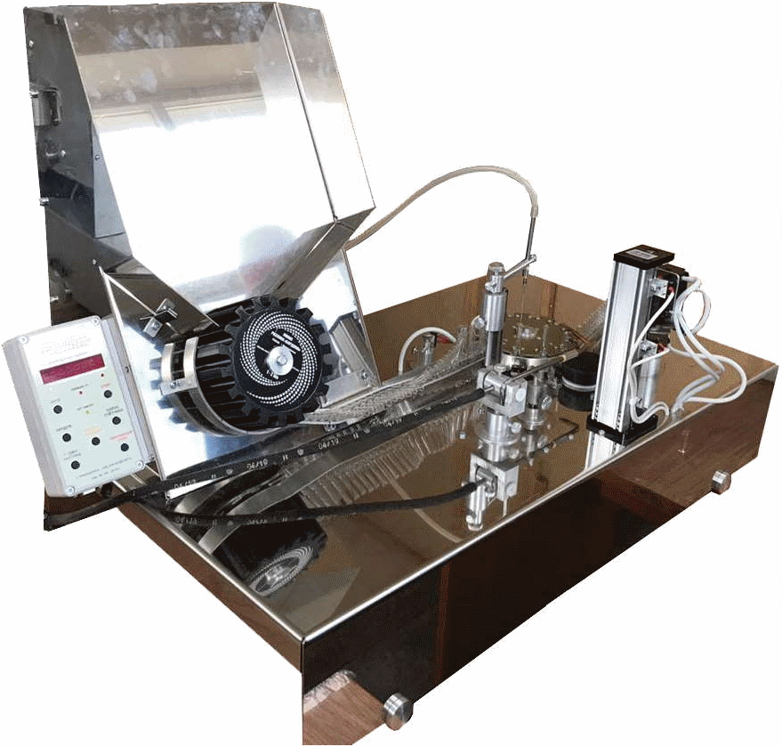 "Ampoule filling and sealing machine ""Borgia"""