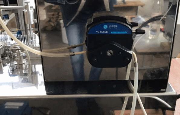 Peristaltic dispenser